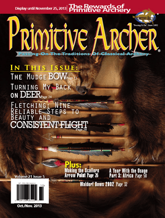 Cover of Primitive Archer Magazine Volume 21 Issue 5