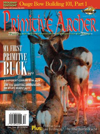 Cover of Primitive Archer Magazine Volume 21 Issue 6