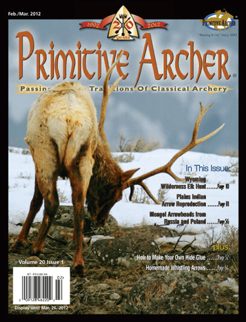 Cover of Primitive Archer Magazine Volume 20 Issue 1