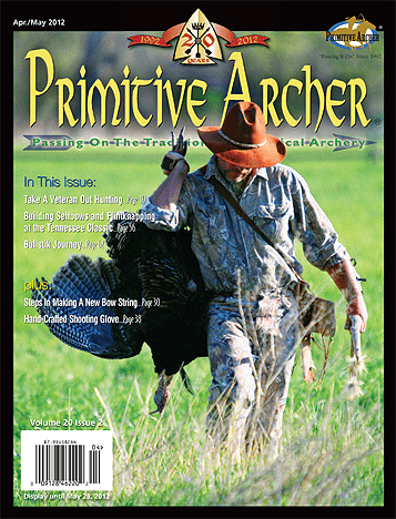 Cover of Primitive Archer Magazine Volume 20 Issue 2