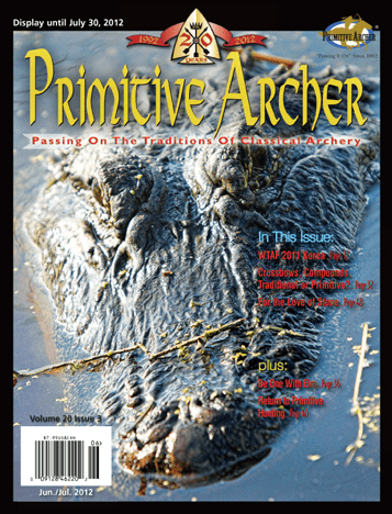 Cover of Primitive Archer Magazine Volume 20 Issue 3