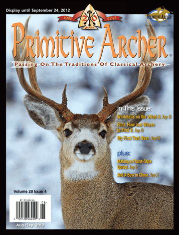 Cover of Primitive Archer Magazine Volume 20 Issue 4