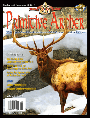 Cover of Primitive Archer Magazine Volume 20 Issue 5