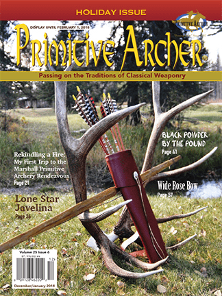 Cover of Primitive Archer Magazine Volume 25 Issue 6