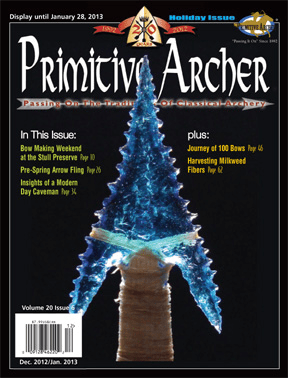 Cover of Primitive Archer Magazine Volume 20 Issue 6