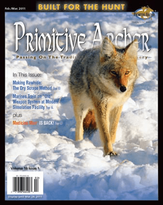 cover of Primitive Archer Magazine Volume 19 Issue 1