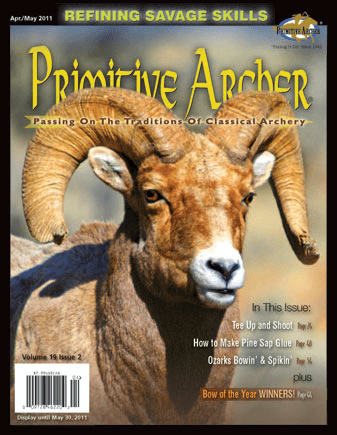 Cover of Primitive Archer Magazine Volume 19 Issue 2