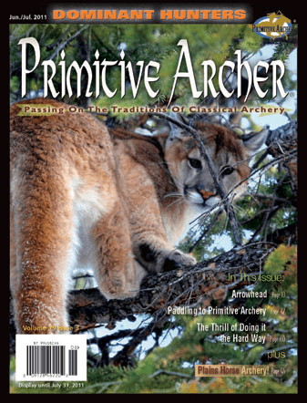 Cover of Primitive Archer Magazine Volume 19 Issue 3