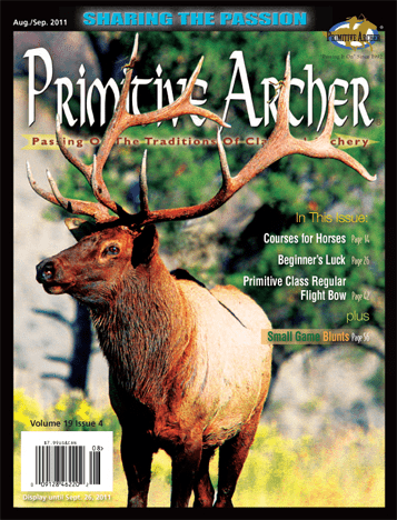 Cover of Primitive Archer Magazine Volume 19 Issue 4