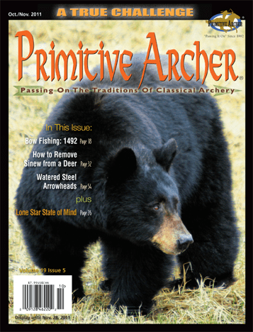 Cover of Primitive Archer Magazine Volume 19 Issue 5