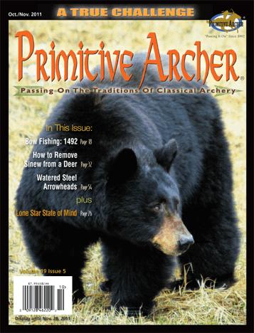 Cover of Primitive Archer Magazine Volume 19 Issue 5