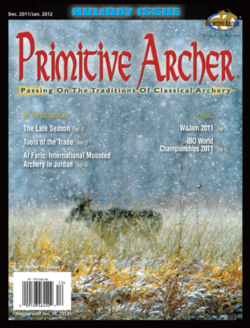 Cover of Primitive Archer Magazine Volume 19 Issue 6