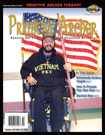 cover of Primitive Archer Magazine Volume 18 Issue 1