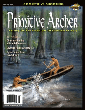 Cover of Primitive Archer Magazine Volume 18 Issue 3