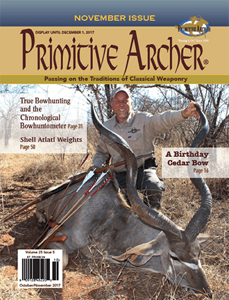 Cover of Primitive Archer Magazine Volume 25 Issue 5