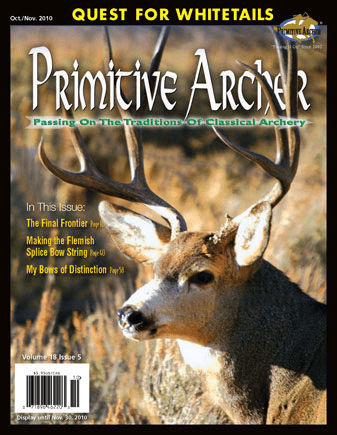 Cover of Primitive Archer Magazine Volume 18 Issue 5