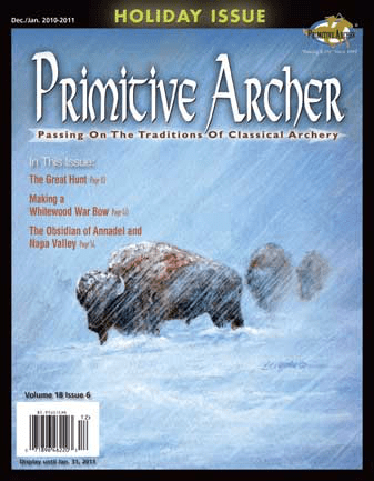 Cover of Primitive Archer Magazine Volume 18 Issue 6