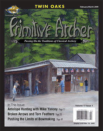 Cover of Primitive Archer Magazine Volume 17 Issue 1