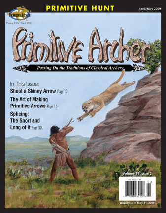Cover of Primitive Archer Magazine Volume 17 Issue 2