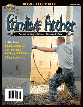 Cover of Primitive Archer Magazin Volume 17 Issue 3