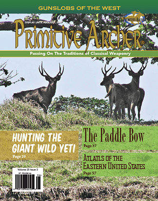 Cover of Primitive Archer Magazine Volume 25 Issue 4
