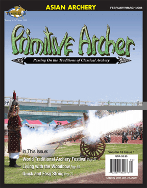 Cover of Primitive Archer Magazine Volume 16 Issue 1