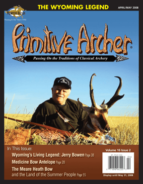 Cover of Primitive Archer Magazine Volume 16 Issue 2