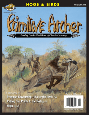 Cover of Primitive Archer Magazine Volume 16 Issue 3