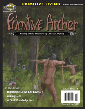 Cover of Primitive Archer Magazine Volume16 Issue 4