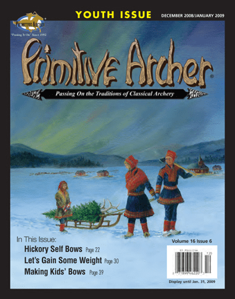 Primitive Archer Magazine Volume 16 Issue 6