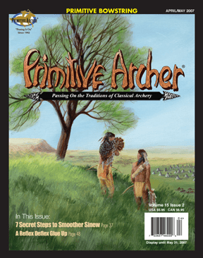 Cover of Primitive Archer Magazine Volume 15 Issue 2