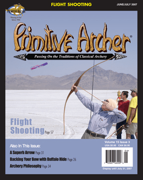 Cover of Primitive Archer Magazine Volume 15 Issue 3