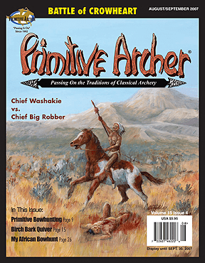 Cover of Primitive Archer Magazine Volume 15 Issue 4