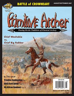 Cover of Primitive Archer Magazine Volume 15 Issue 4