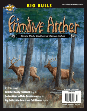 Cover of Primitive Archer Magazine Volume 15 Issue 5