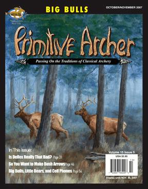 Cover of Primitive Archer Magazine Volume 15 Issue 5