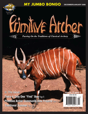 Cover of Primitive Archer Magazine Volume 15 Issue 6
