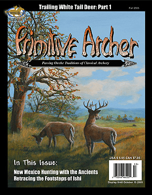 Cover of Primitive Archer Magazine Volume 13 Issue 3