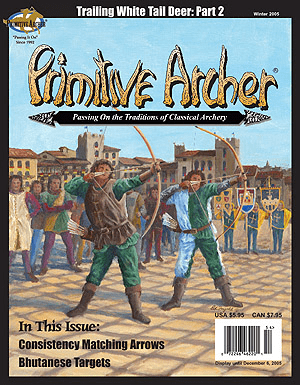 Cover of Primitive Archer Magazine Volume 13 Issue 4