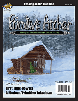 Cover of Primitive Archer Magazine Volume 13 Issue 5