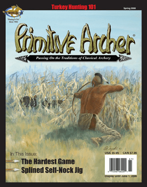 Cover of Primitive Archer Magazine Volume 14 Issue 1