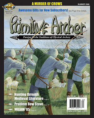 Cover of Primitive Archer Magazine Volume 14 Issue 2