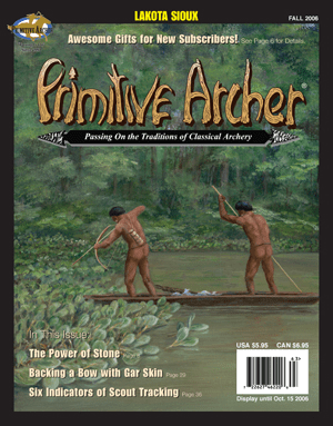 Cover of Primitive Archer Magazine Volume 14 Issue 3