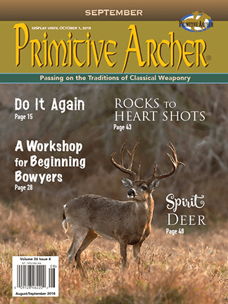 cover of mitive Archer Magazine Volume 26 Issue 4