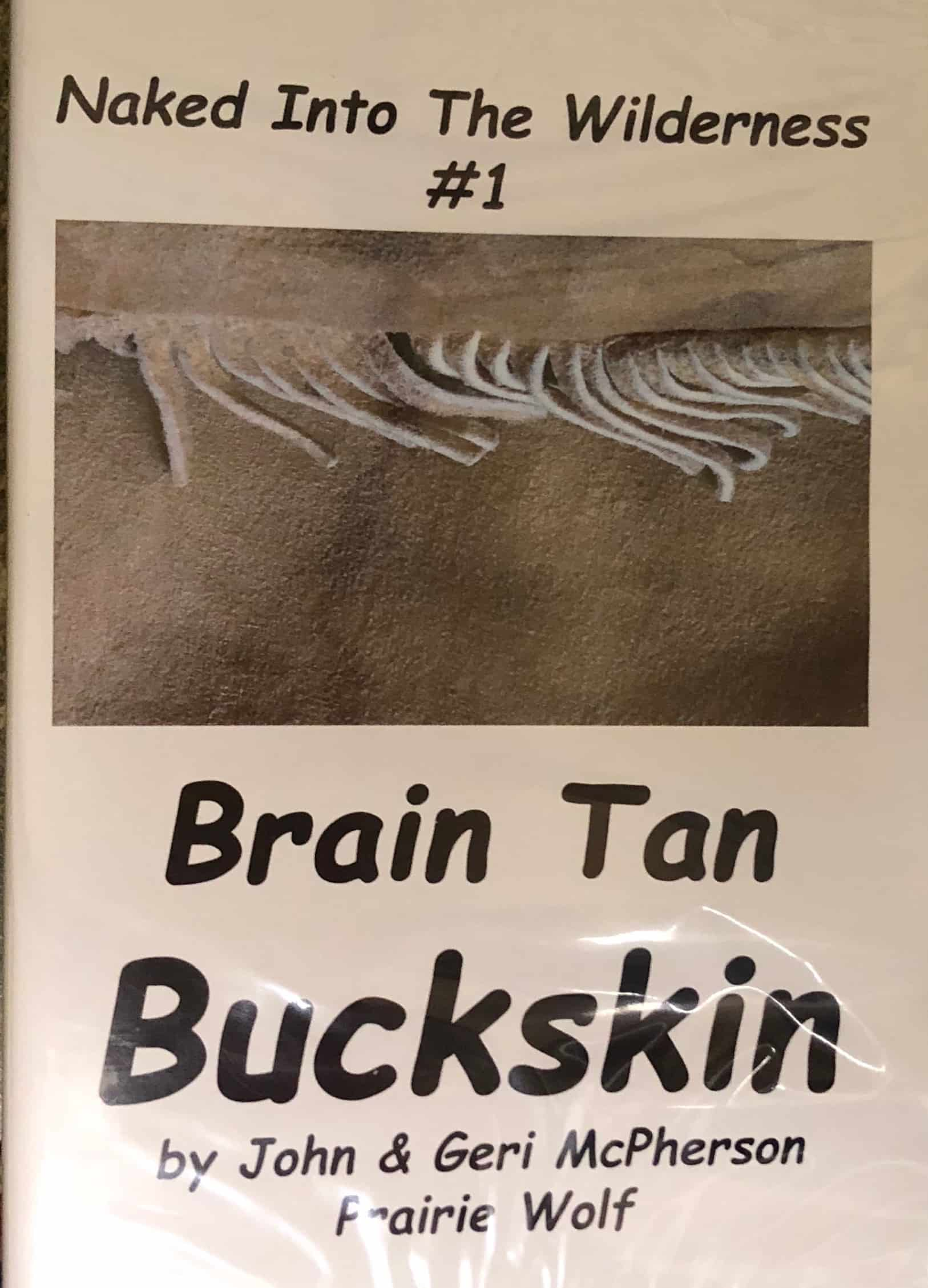 Cover of Brain Tan Buckskin