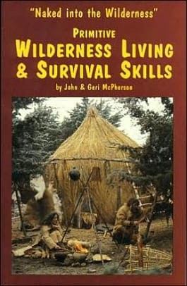 cover of Naked into the Wilderness - Primitive Wilderness Living and Survival Skills