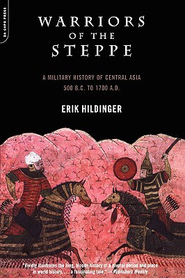 cover of warriors of the steppe