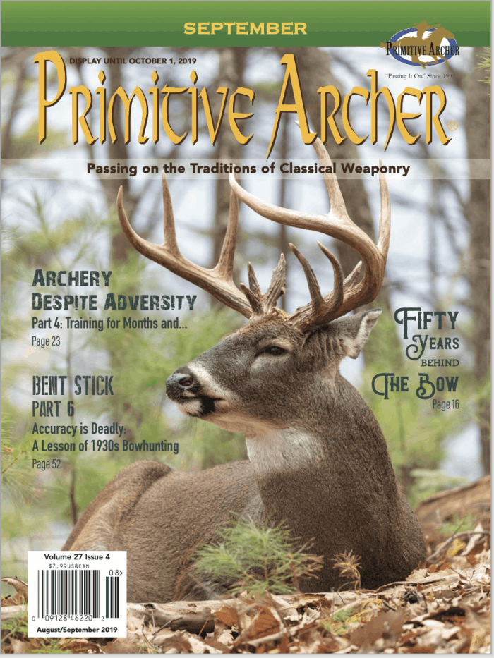 Primitive Archer Magazine Volume 27 Issue 4