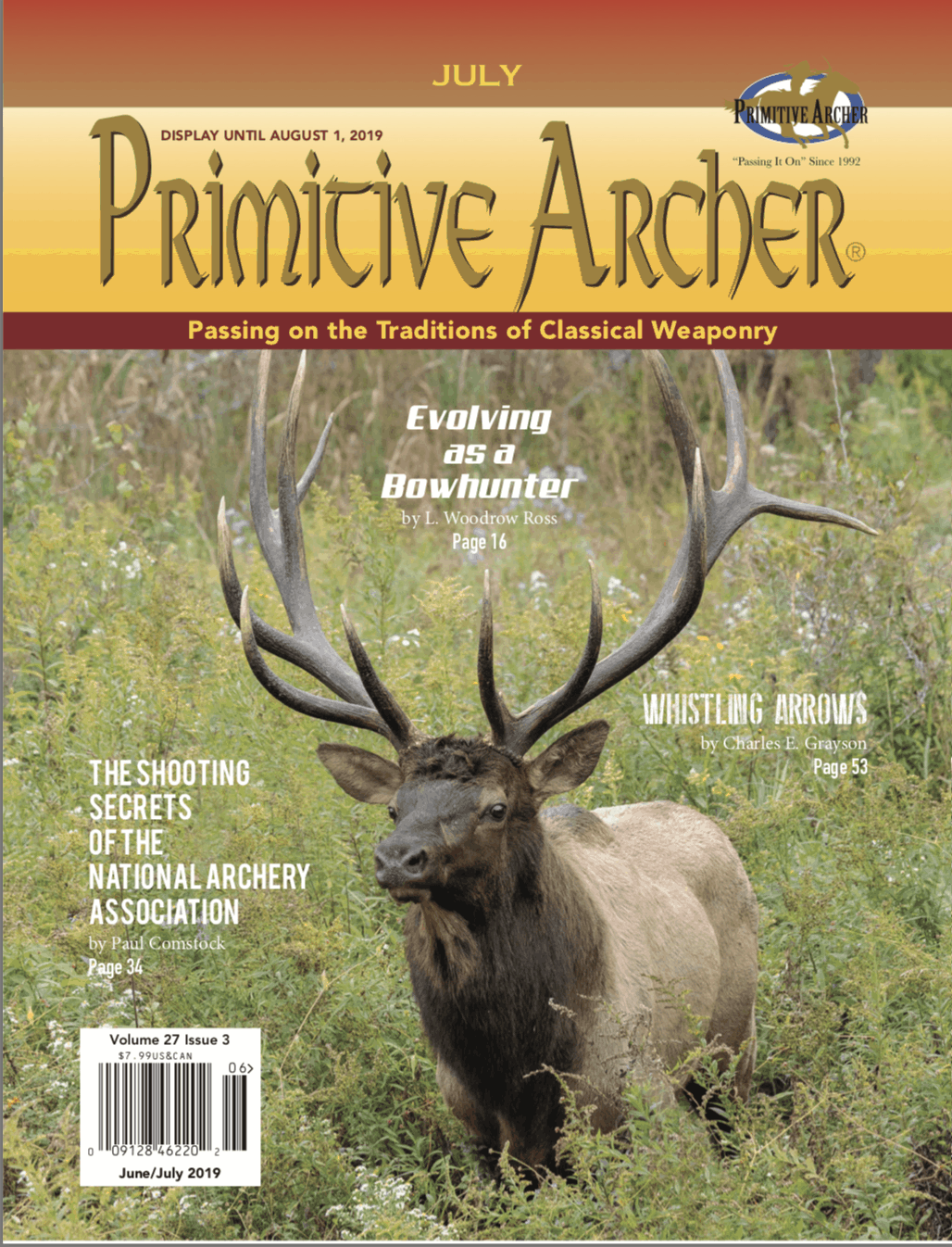 Cover of Primitive Archer Magazine 27.3