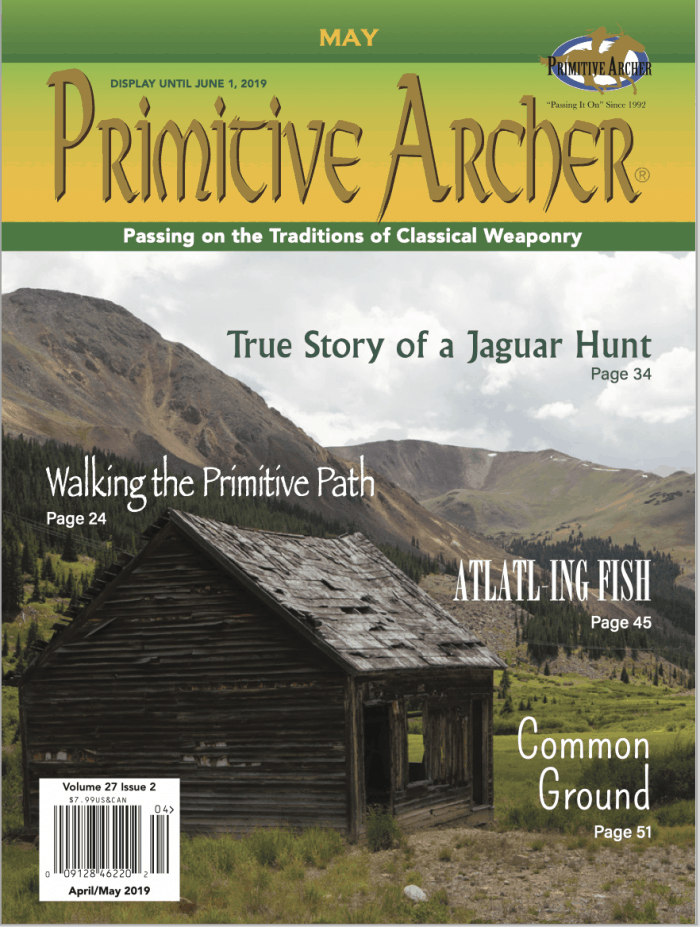 Cover of Primitive Archer Magazine 27.2